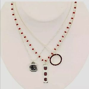 Jewelry - University of South Carolina three in one necklace